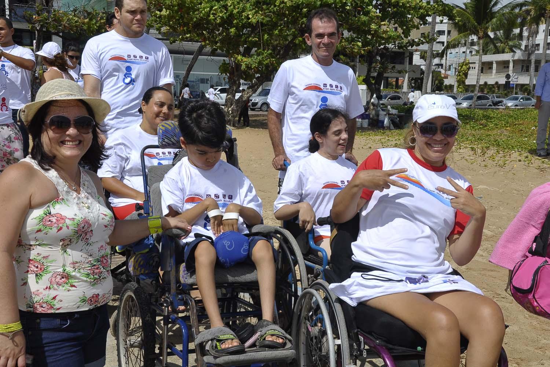 Moradoras do Cabo Branco pedem a vereadora que impeça deficientes de irem à praia