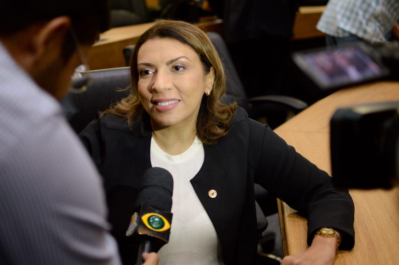 Cida Ramos apresenta projeto contra crime de importunação sexual