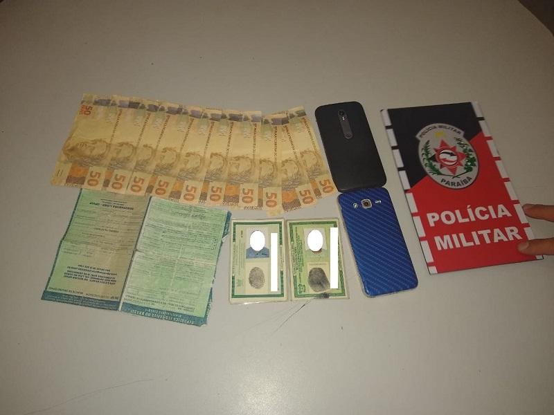 Três pessoas são presas com dinheiro falso em Mamanguape