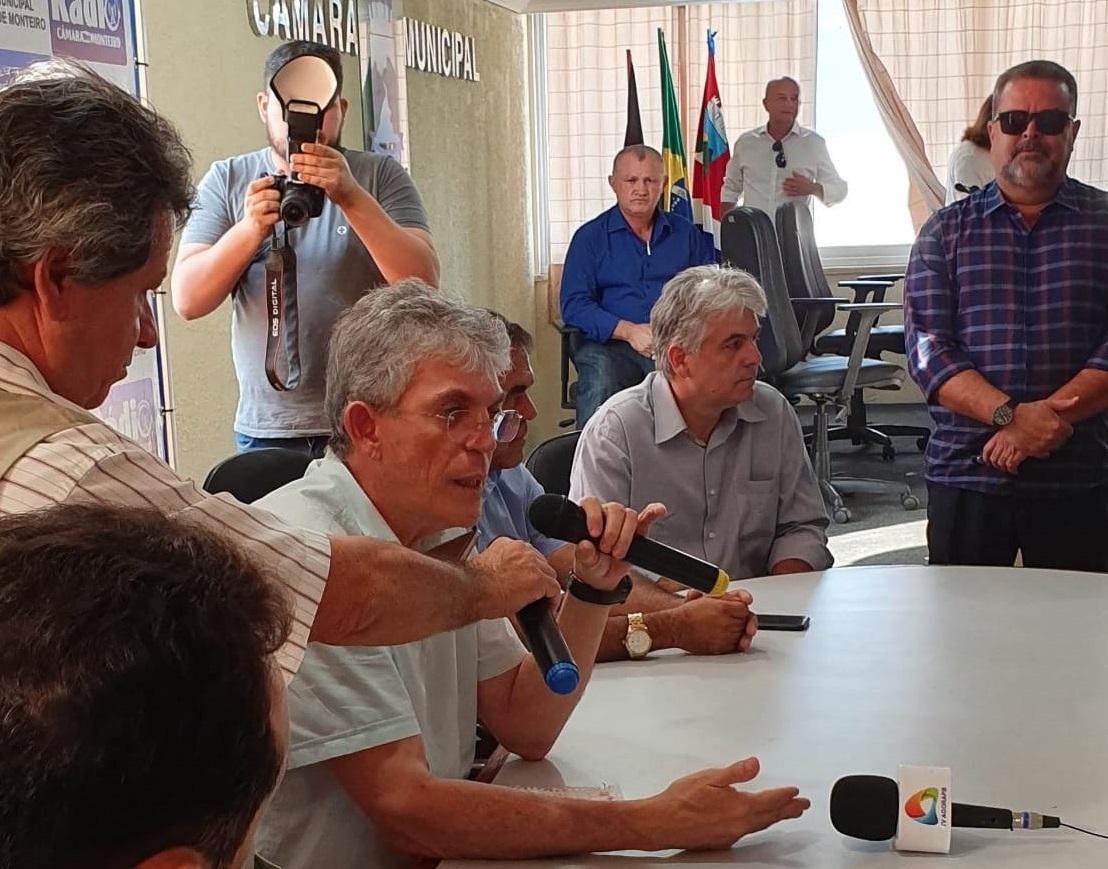 """Assista: Ricardo afirma que Nordeste deve impor derrota """"dessa coisa estúpida que está aí"""""""