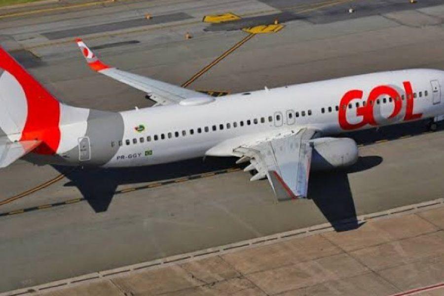 Turbina de avião da Gol com 154 passageiros pega fogo durante decolagem no Ceará