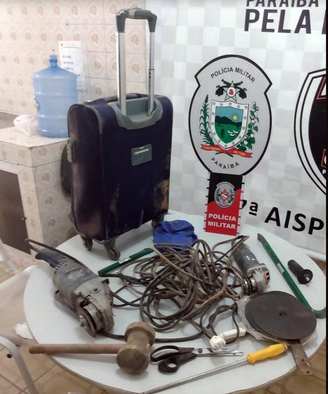 Polícia frustra ação contra banco na Paraíba e prende suspeito após perseguição