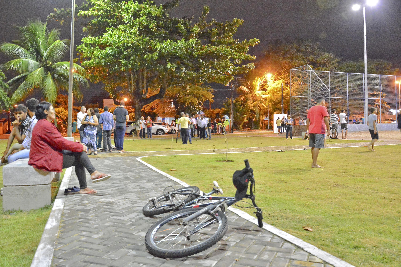Cartaxo entrega praça no Castelo Branco e PMJP chega a 51ª equipamentos