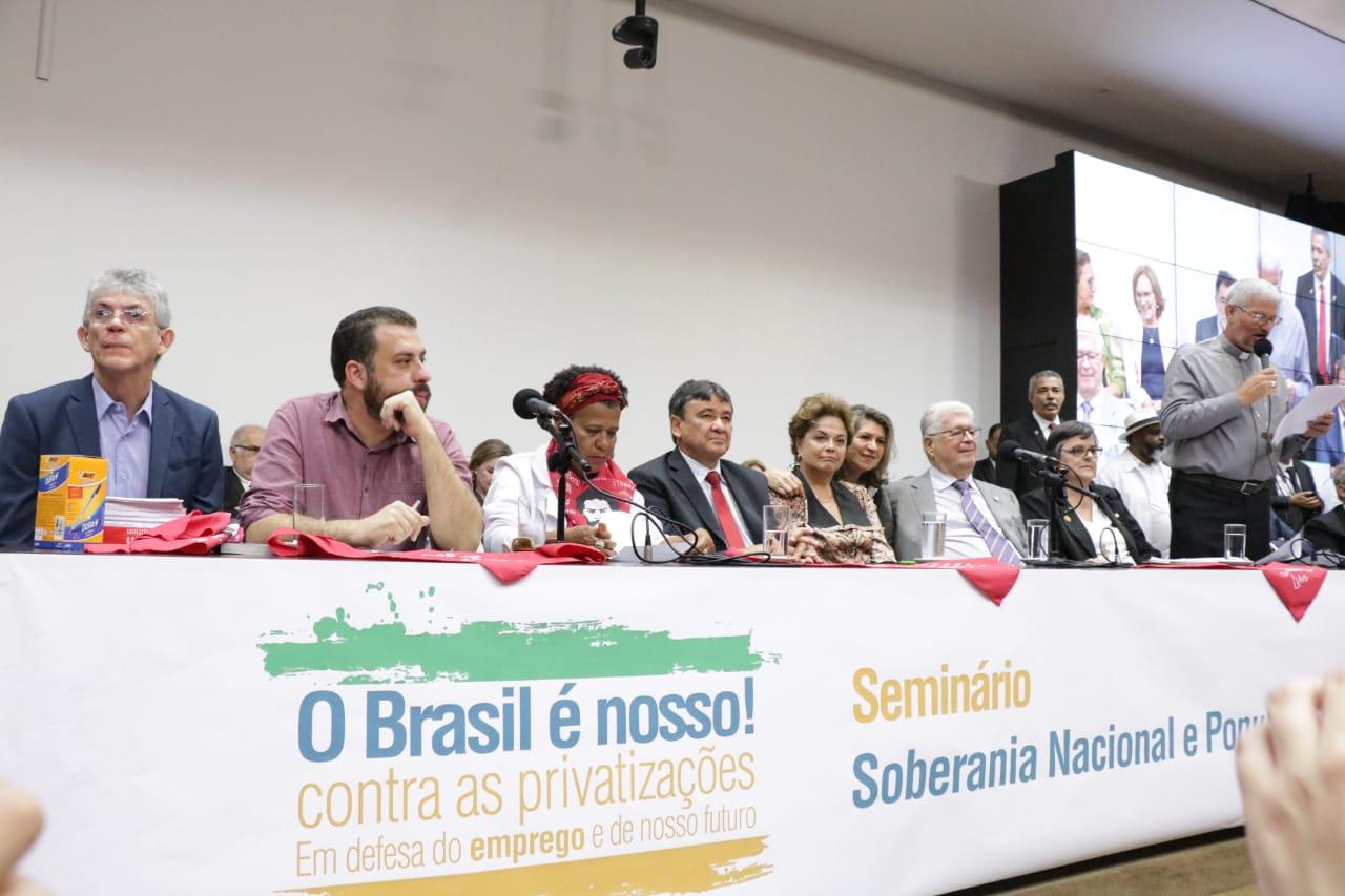 """Dilma Rousseff elogia Ricardo Coutinho: """"É exemplo de força e competência"""""""