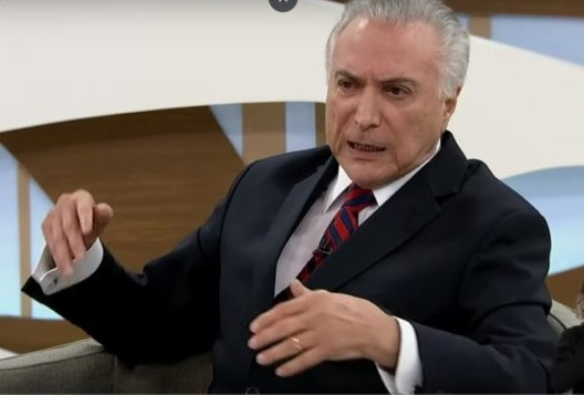 Temer admite `golpe' contra a ex-presidente Dilma Rousseff