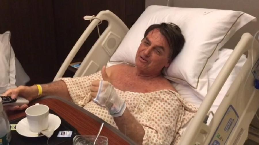 Bolsonaro passará a despachar do hospital a partir desta terça