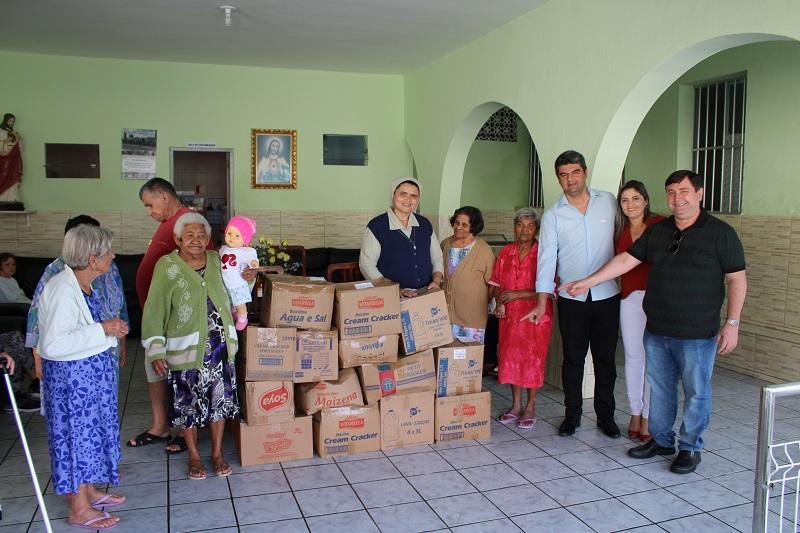 Creci-PB entrega donativos para Instituto São Vicente de Paulo, em Campina Grande