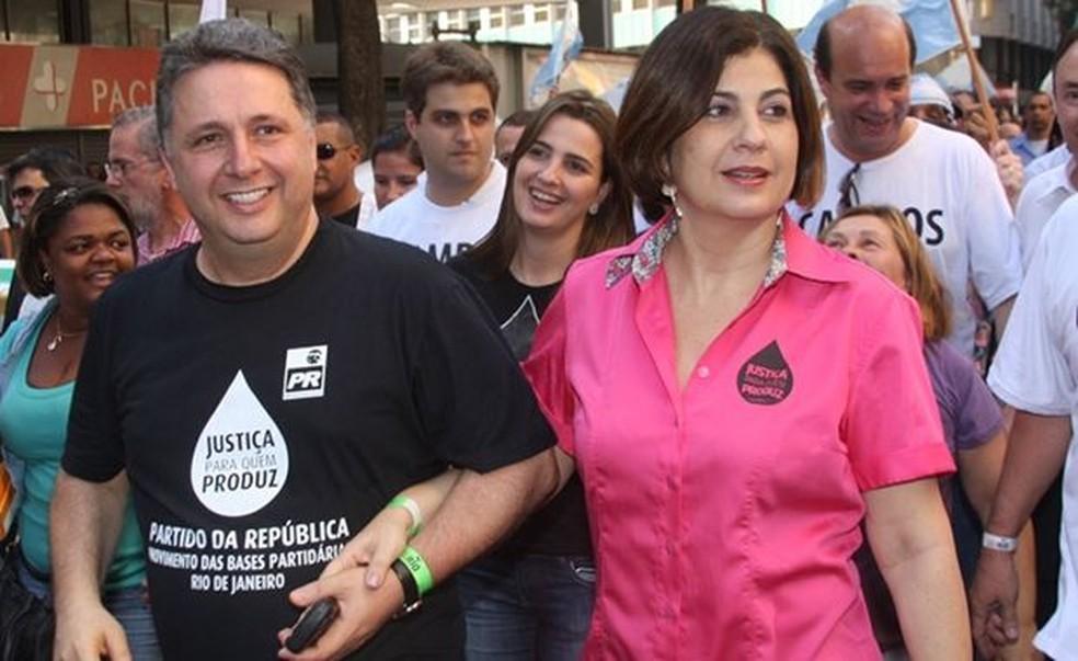Ex-governadores do Rio Anthony Garotinho e Rosinha são presos novamente
