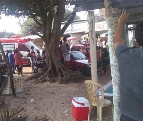 Homem sofre afogamento na praia da Penha e adolescente passa mal na praia do Bessa
