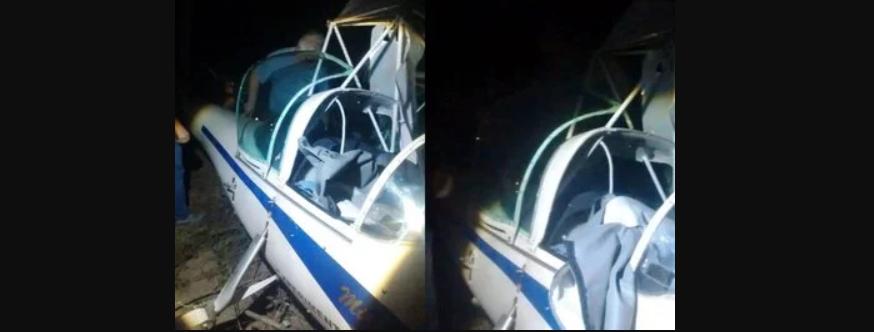 Avião com destino a João Pessoa faz pouso forçado no Agreste da Paraíba