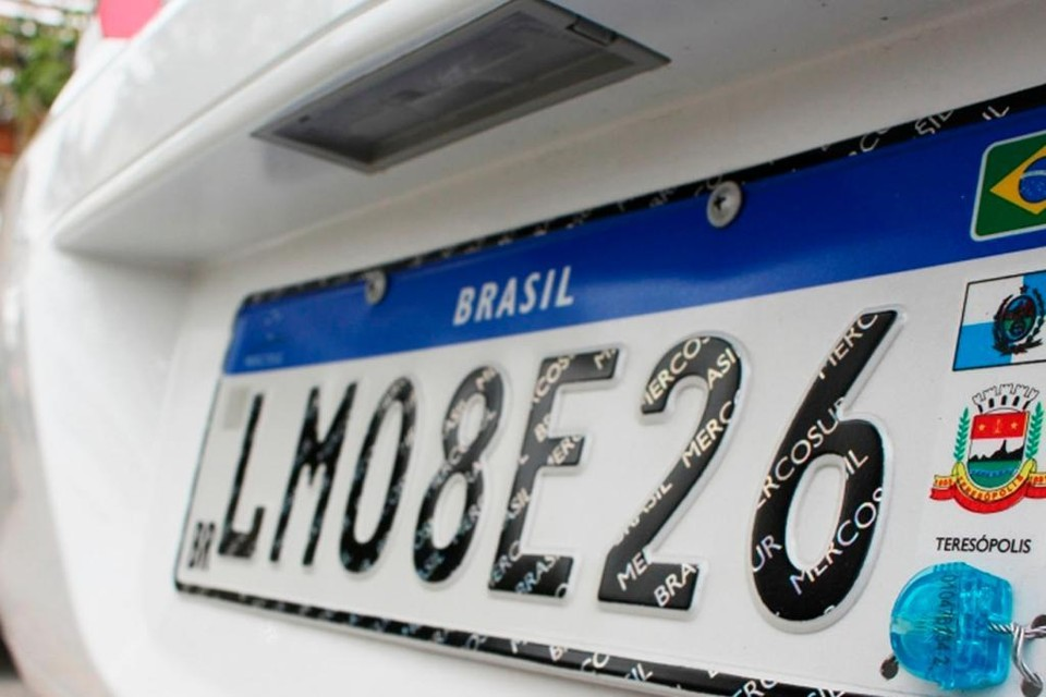 Paraíba implanta placas no padrão Mercosul a partir desta segunda-feira